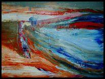 Malerei, Abstrakt, Ölmalerei, Acrylmalerei