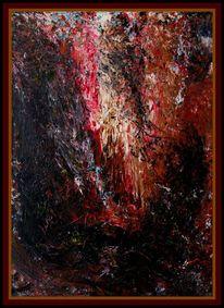 Ölmalerei, Acrylmalerei, Malerei, Abstrakt