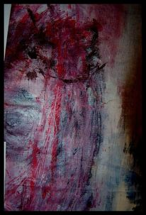 Kalk, Malerei, Acrylmalerei, Mischtechnik