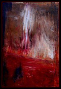 Ölmalerei, Acrylmalerei, Landschaft, Mischtechnik