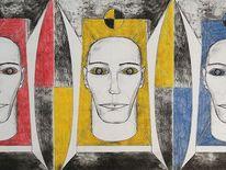 Ausdruck, Zeichnung, Menschen, Zeichnungen