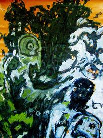 Seelisch, Ausdruck, Malerei