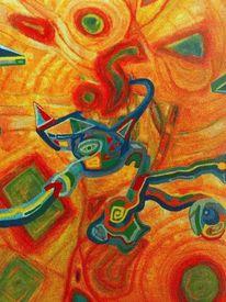 Malerei, Ausdruck, Landschaft, Befindlichkeiten