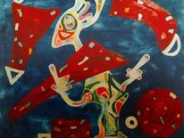 Ausdruck, Fantasie, Befindlichkeit, Malerei