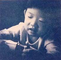 Zeitgenössische kunst, Schatten, Kinder, Fotografie
