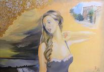 Auftragsmalerei, Portrait, Ölmalerei, Landschaft