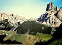 Südtirol, Sass songher, Corvara, Dolomiten