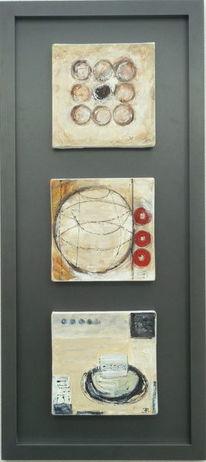 Acryl mischtechnik, Konkret, Abstrakt, Malerei