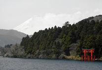 Fujiyama, Miyajima, Japan, Itsukushima