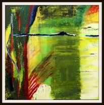 Malerei, Atelier, Abstrakt