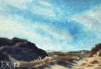 Impressionismus, Meer, Urlaub, Küste