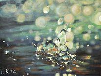 Realismus, Platscher, Tropfen, Wasser