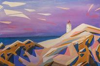 Dänemark, Malerei, Nordsee, Strand