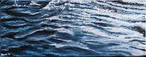 Meer, Malerei, Nass, Nordsee