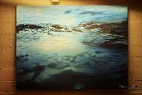 Wasseroberfläche, Wasser, Welle, Blau
