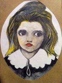 Kopf, Kinder, Malerei, Abstrakt
