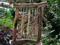 Ton, Keramik, Windspiel, Gartenkeramik