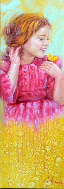 Gemälde, Fantasie, Figur, Portrait