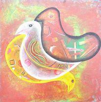 Acrylmalerei, Malerei, Modern, Gemälde
