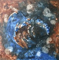Beize, Tusche, Zeitgenössische kunst, Marmormehl