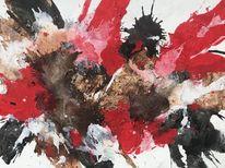 Marmormehl, Expressionismus, Struktur, Abstrakt
