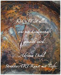 Zeitgenössische kunst, Marmormehl, Pigmente, Beize