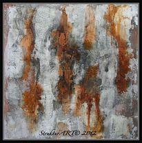 Marmormehl, Pigmente, Zeitgenössische kunst, Beize