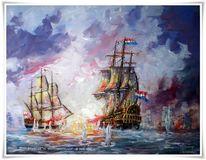 Malerei, Schiffe