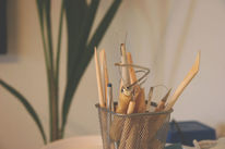 Töpferei, Skulptur, Glasur, Vase