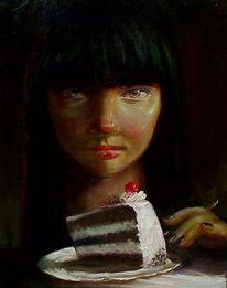Malerei, Ölmalerei, Stillleben, Portrait