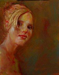 Malerei, Gemälde, Ölmalerei, Alla prima