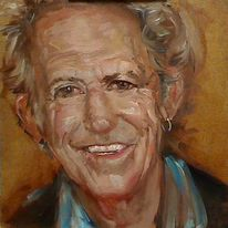 Rolling stones, Portrait, Prima, Keith richards