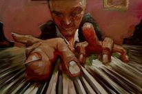 Portrait, Ölmalerei, Prima, Alla