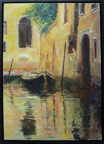 Venedig, Architektur, Kanal, Abend