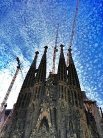 Stadt, Barcelona, Sagra de famlia, Fotografie