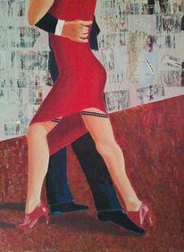 Malerei, Show, Tango