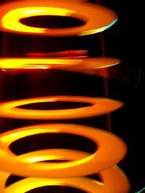 Leuchtend, Ufos, Zukunft, Objekt