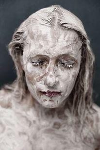 Farben, Frau, Portrait, Fotografie
