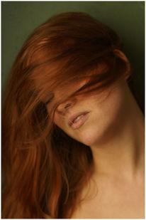 Frau, Tageslicht, Bewegung, Portrait