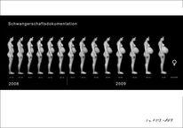 Menschen, Körper, Frau schwangerschaft, Veränderung