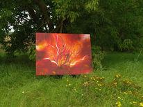 Malerei, Feuer