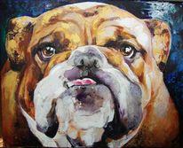 Abstrakt, Tiere, Acrylmalerei, Gemälde