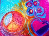 Frieden, Liebe, Malerei