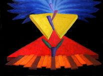 Malerei, Synästhesie, Ölmalerei, Abstrakt