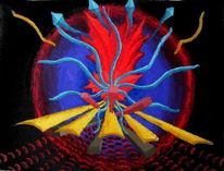Ölfarben, Malerei, Synästhesie, Abstrakt