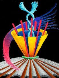 Ölfarben, Abstrakt, Malerei, Synästhesie