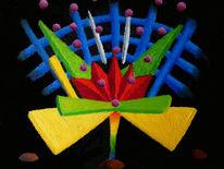 Synästhesie, Ölfarben, Musik, Malerei