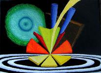 Synästhesie, Ölfarben, Malerei, Schwanensee