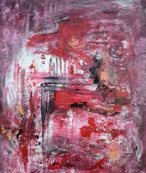 Feuervogel, Acrylmalerei, Abstrakt, Malerei