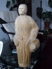 Holzskulptur, Plastik